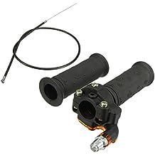 YONGYAO Giro del Acelerador Acelerador Apretones Y Cable para La Suciedad De ATV Quad Pit Bike