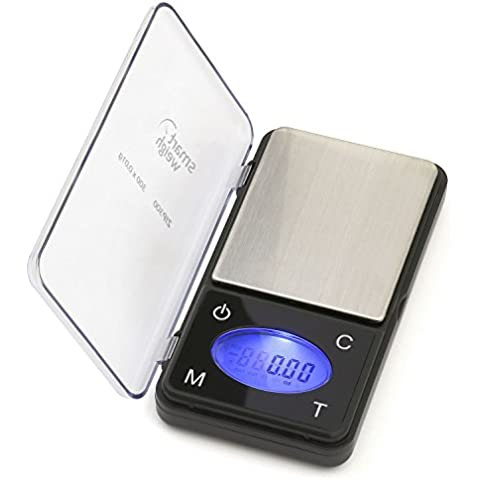 Smart Weigh ZIP300 Ultra Slim Digital Pocket Scale with Counting Feature 300 x 0.01g