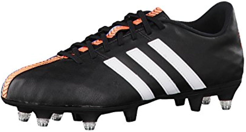 Adidas Fussballschuhe 11nova SG 40 Core Black/ftwr White/flash orange s15
