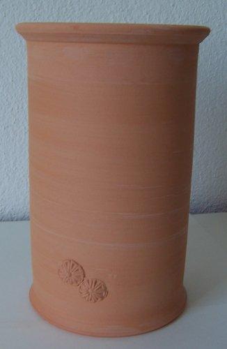Töpferei Annett Fischer WKÜ1 Weinkühler terracotta Weinkühler Keramik handgetöpfert Höhe 21 cm Durchmesser 13 cm Volumen 1,4 l