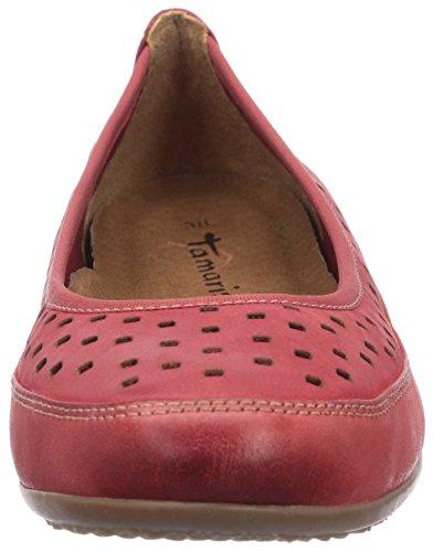 Tamaris 22115 Damen Geschlossene Ballerinas Rot (Chili 533)