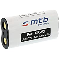 Batteria CRV-3 per BenQ Canon Casio Kodak Konico Nikon Olympus