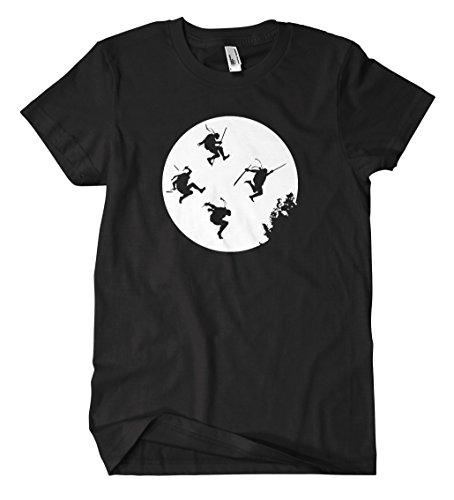 Turtles Moon M2 T-Shirt (XXL, (Turtles Film O Ninja Neil April)