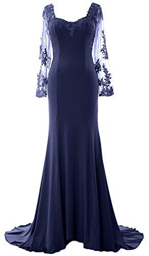 MACloth - Robe - Femme Bleu Marine