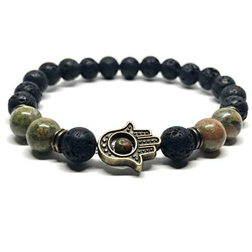 GOODdesigns-Chakra-Perlen-Armband-aus-echten-Natursteinen-Hand-der-Fatima-Hamsa-Anhnger