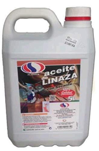 ACEITE DE LINAZA PLAINSUR 5 L CON SECANTE