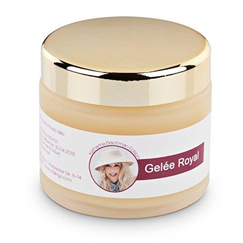Gelée Royal 100g pur - natürliche Beauty Gesichtsmaske / Anti-Falten Maske / Tagescreme (Honig-Creme) - natives Gelée Royal aus der Katharina Bachman Edition