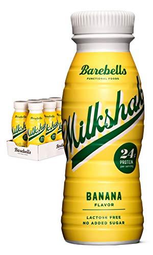 Barebells Protein Milkshake Banane 8 x 330 ml | Mit hohem Proteingehalt | Ohne Zuckerzusatz |...
