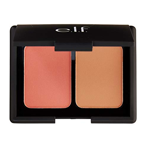 e.l.f. Cosmetics contouring blush and Bronzing Powder