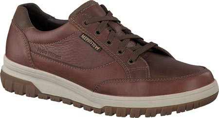 Mephisto Mens Paco Leather Shoes Hazel