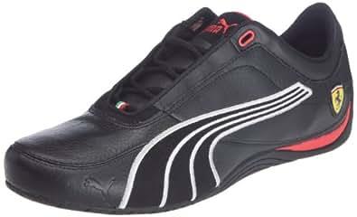 Puma Drift Cat 4 SF Carbon 304189, Herren Sportive Sneakers, Schwarz (black-rosso corsa 02), EU 40.5 (UK 7) (US 8)