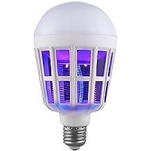 Repelente Ultrasónico EUzeo LED repelente mosquitos.lámpara 15W / E27 / 400 ~ 800V del mosquitoRepelente de Insectos Electrónico Enchufable,Electrónico ...
