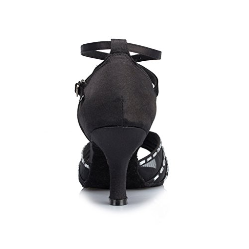 Meijili, Scarpe da ballo donna Black