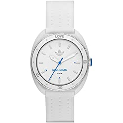 Adidas-adh3123-Stan Smith Damen-Armbanduhr-Zifferblatt weiß-Armband weiß