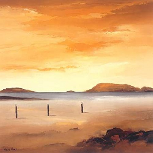 The Poster Corp Hans Paus - Quiet Sands I Kunstdruck (30,48 x 30,48 cm) -