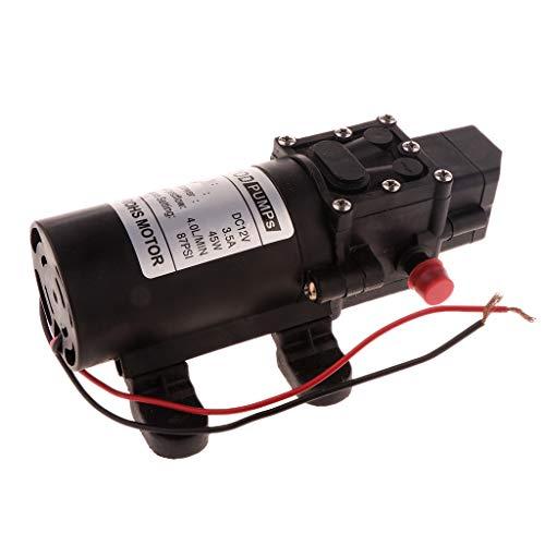 F Fityle 12V Wasserpumpe Selbstansaugende Pumpe Hochdruckpumpe Membranpumpe - A