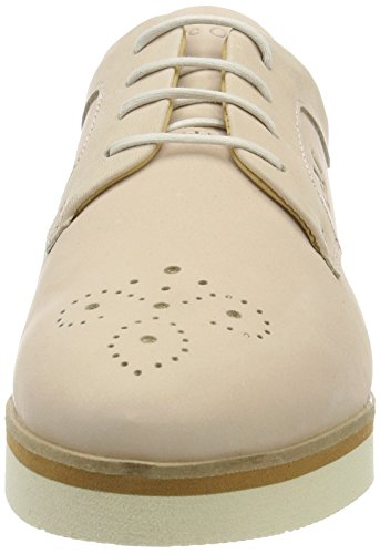 Marc O'Polo Damen 70113853401200 Lace Up Brogues Beige (Nude)