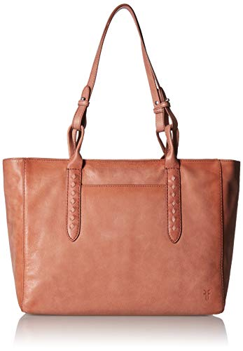 FRYE Damen Reed Zip Leather Tote Tragetasche, Dusty Rose, Einheitsgröße Rose Reed