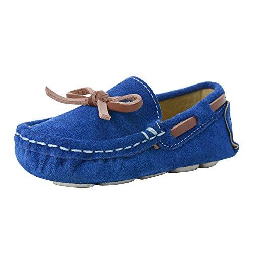 OCHENTA, Mocassini Bambini, Blu (Blue), 25 EU M Bambino Piccolo