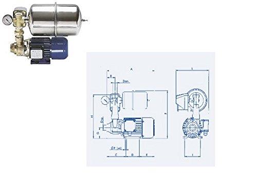 PUMP AUTOKLAV 12 V 40 Liter für weitere Armaturen Zubehör Boot BOOTFAHREN