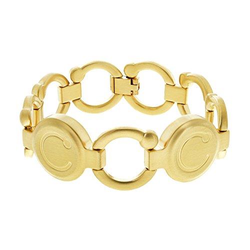 Bioflow Pirouette-Armband, gebürstetes Gold