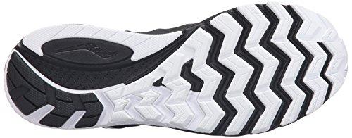 Saucony Zealot Iso 2, Scarpe da Corsa Uomo Nero/Bianco