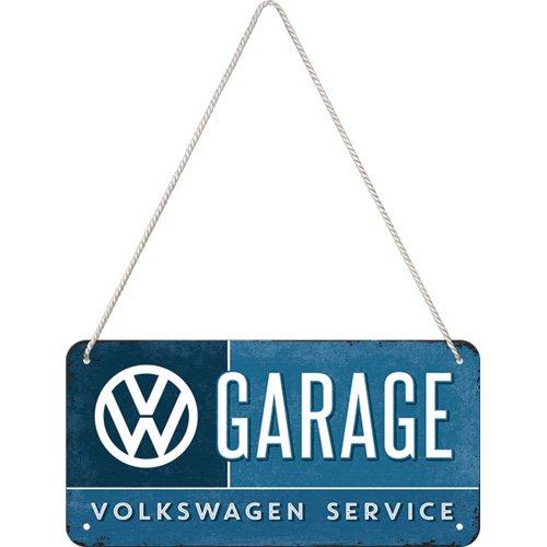 Nostalgic-Art 28004Volkswagen VW–Garage, Colgar, 10x 20cm