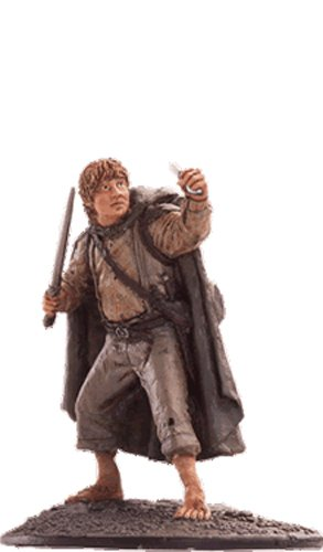 Lord of the Rings Señor de los Anillos Figurine Collection Nº 64 Sam 1