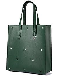 Tote Bag Handbags For Women Top Handle Satchel Shoulder Bag Travel Bag Designer Purse 2 Pieces Set With Crossed...
