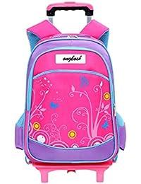 Preisvergleich für Zhuhaijq Stilvoll Schüler Kindertrolley Rucksack - Jungen Mädchen Leicht Handgepäck Schulranzen Backpack Freizeitrucksack...