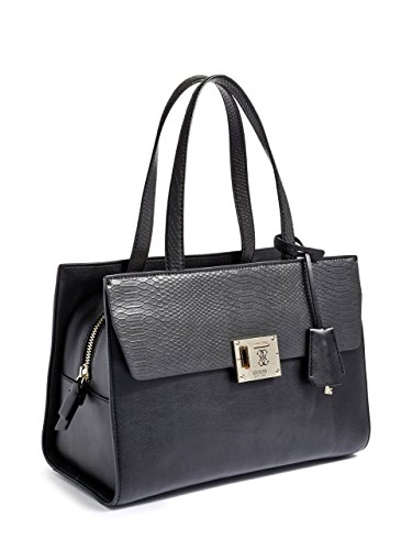 Guess Angela Sac à main - Fourre-tout 33 cm Black (Schwarz)