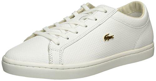 Lacoste Straightset, Sneaker Donna Bianco (White)
