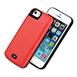HQXHB Battery Case for iPhone 5S / 5 / SE / SE2 Upgraded