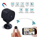 Mini Kamera WiFi, Lachesis WLAN Überwachungskamera Spy Cam Full HD 1080P Tragbare Kleine mit...