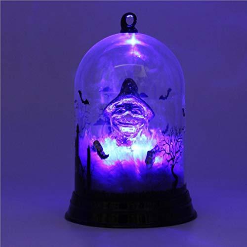 TAOtTAO 1 Stück Halloween Kerze mit LED Teelicht -