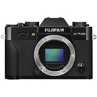 """Fujifilm X-T20 - Cámara EVIL de 24 MP (pantalla de 3"""", visor electrónico, resolución máxima 4K ) negro"""