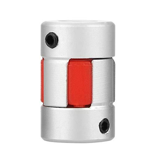 Flexible Wellenkupplung Plum Coupler Aluminiumlegierung CNC Schrittmotor Encoder Koppler D14 L22 6 * 6mm -