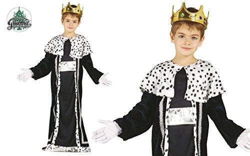 tüm für Kinder Krippenspiel die heiligen drei Könige Kirche Weihnachten Gr. 98-146, Größe:110/116 (Skelett-könig-kostüm)