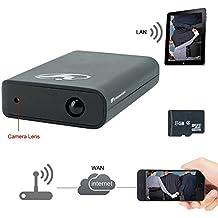TEKMAGIC 8GB 1920x1080P HD Red WIFI Cámara Espía Banco de Energía Detección de Movimiento DV Videocámara la Ayuda del iPhone Android APP Vista Remota 7/24 Horas de Trabajo