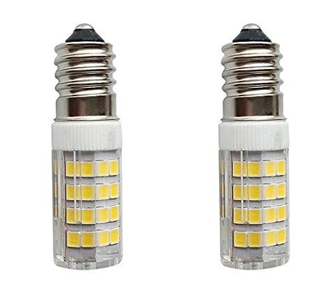 SFTlite [2er Pack Warmweiß] 4W E14 LED Lampe 51 SMDs Nicht Dimmbar - Ersatz für 35W Halogenlampen - 400lm - 6000K - 360°Abstrahwinkel - LED Leuchtmittel SES E14,Edison Schraube LED Birnen 220-240V AC [Energieklasse