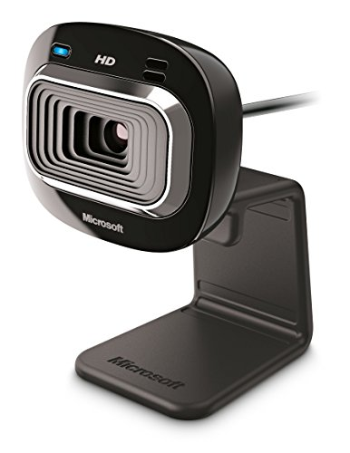 Microsoft LifeCam HD-3000 Webcam, Nero