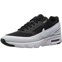 Nike Damen W Air Max BW Ultra Turnschuhe, Black Pure Platinum-Weiß-Schwarz, 36 1/2 EU