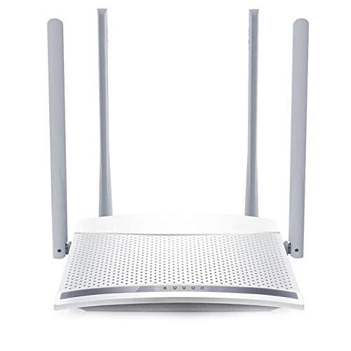 BESTSUGER Wireless Router, 4 Antenne Home Breitband-Router, Smart Wi-Fi-App aktiviert, um Ihr Netzwerk von überall zu steuern - App-vpn-firewall