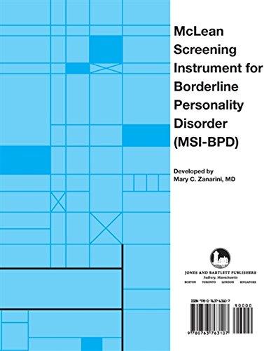 McLean Screening Instrument for Borderline Personality Disorder (MSI-BPD)