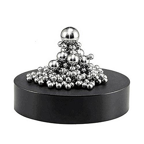 Funpa Stresskiller, Magnetische Skulptur Schreibtisch Spielzeug Magnet Schreibtisch Dekorationen für Intelligenz Entwicklung Stress Angst Relief 5 Jahre altes Junge Geschenk