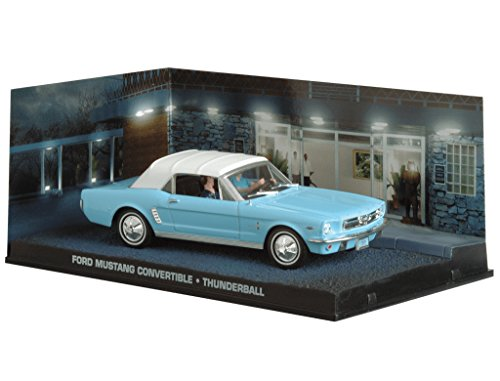 007 James Bond Car Collection #30 Ford Mustang convertible (Thunderball)