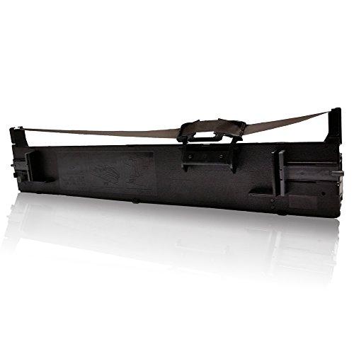 Preisvergleich Produktbild kompatibles Farbband - Nylonband für Epson LQ-690 LQ690 LQ 690 C13S015610 C13 S015610 C 13 S 015610 Schwarz Black K BK Ribbon - Eco Pro Serie
