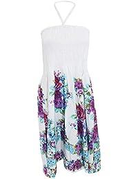 Robe d'été à motif floral - Femme