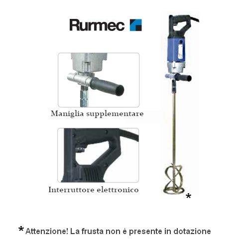 Trapano impastatore/Miscelatore professionale 1100W 130mm Rurmec - EV 18 E (Cod.:3398)