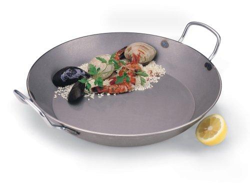 World Cuisine A4172350 Paella pan, 19 5/8in, Silver